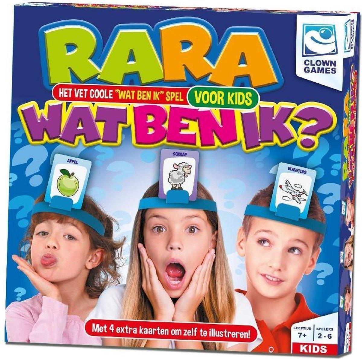 Clown Games - Rara Wat Ben Ik? Junior - spel - Clown Games