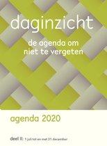 Daginzicht Agenda 2020 - Deel 2 (juli-dec)