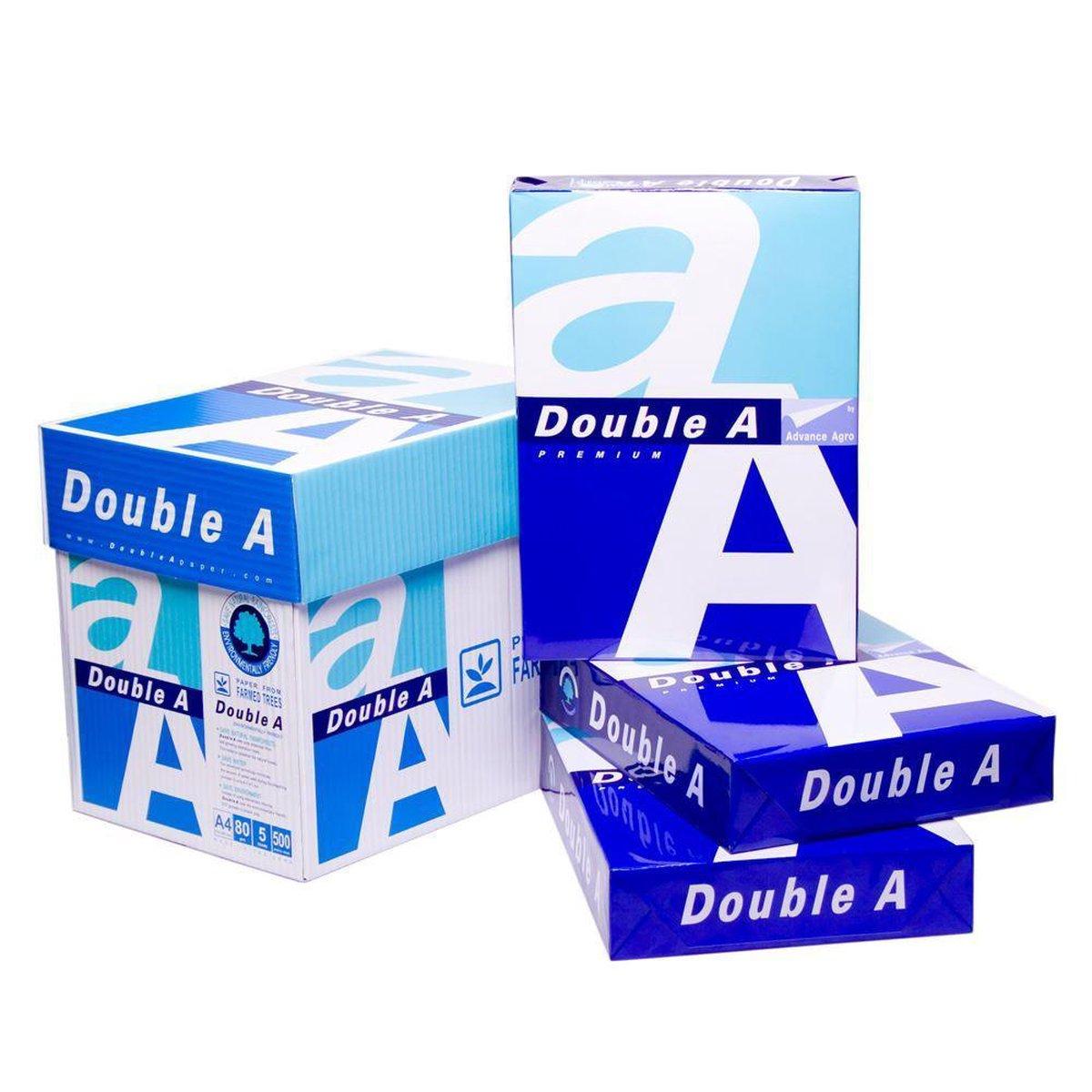 Double A A4- printpapier - 500 vellen - 1 pak op De Prijzenvolger