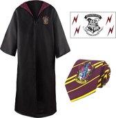 Harry Potter: Gryffindor Robe, Necktie & Tattoo Set