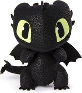DreamWorks Dragons Squeeze & Growl Toothless drakenknuffel van 25 cm met geluid