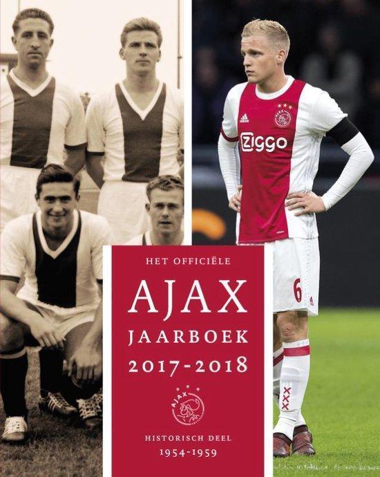 Boek cover Het officiële Ajax jaarboek 2017-2018 van Ronald Jonges (Hardcover)