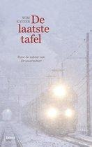 Boek cover De laatste tafel van Wim Kayzer
