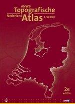 Boek cover Anwb Topografische Atlas Nederland van Onbekend