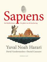 Omslag Sapiens. Een beeldverhaal 2
