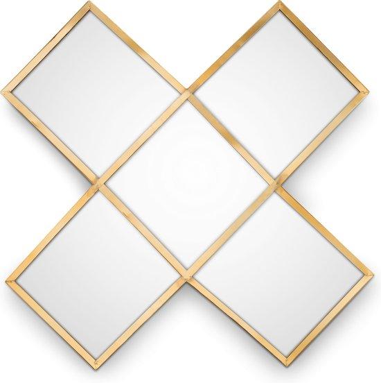 VTWonen - Mirror Cross Gold 45cm