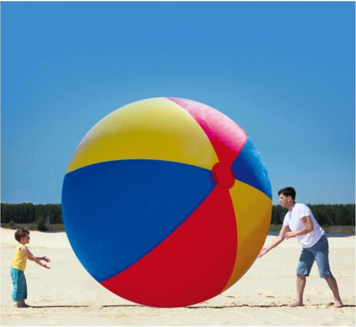 Mega opblaasbare strandbal 3 meter