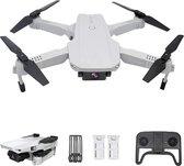 drone met camera - ZINAPS 3T6B Drone met 4K HD Camera, Optical Flow Positioneren met twee camera's, Hoogte, Headless Mode, Path Flight, gebaar Foto, Foldable WiFi FPV Quadcopter voor Beginners, White