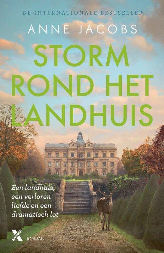 Boek cover Het landhuis 2 - Storm rond het landhuis van Anne Jacobs (Paperback)