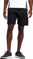 Adidas 3-Stripes 9-Inch Sportbroekje Zwart Heren - Maat M