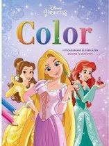 Disney Princess - Kleurblok met uitscheurbare kleurplaten