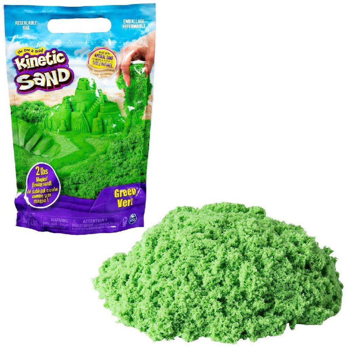 Kinetic Sand Colour Bag Green 907gr