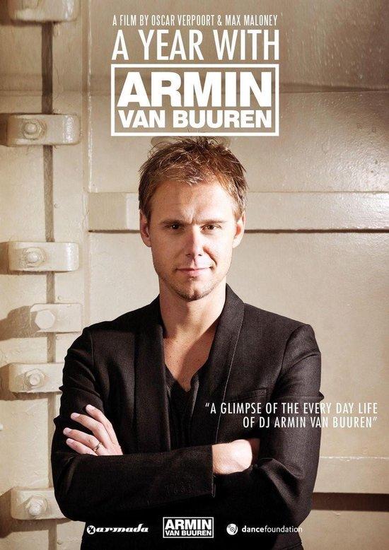 Cover van de film 'A Year With Armin van Buuren'