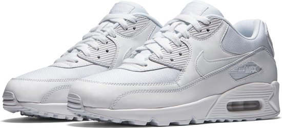 Nike Air Max 90 Essential - White/White-White-White - Sneakers Heren - 537384-111