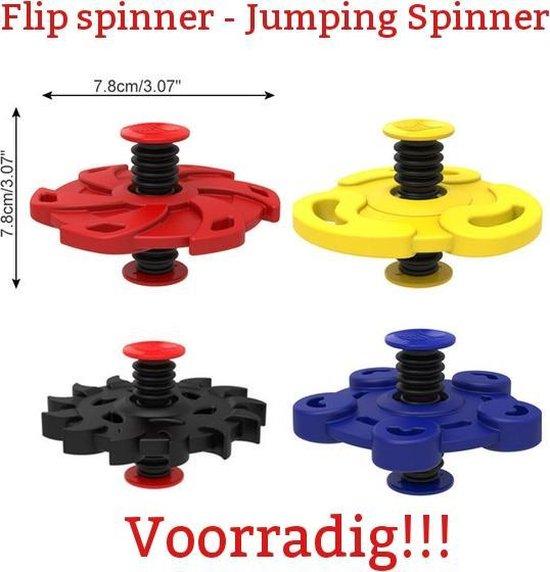 Afbeelding van het spel Spin Jump rubber Spinner Bouncing Flip SPINNER