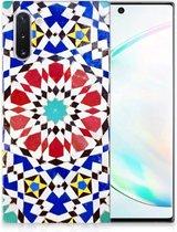 TPU Siliconen Hoesje Samsung Galaxy Note 10 Mozaïek