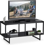 Zwart Bruine Tv Kast.Metalen Tv Meubel Kopen Alle Tv Meubels Online Bol Com