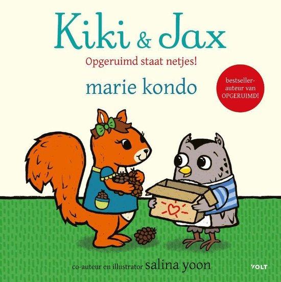 Kiki & Jax - Opgeruimd staat netjes! - Marie Kondo |