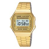 Casio Collection A168WG-9EF - Horloge - Staal - Goudkleurig - Ø 36.3 mm
