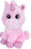 Tender Toys Knuffeleenhoorn 16 Cm Roze