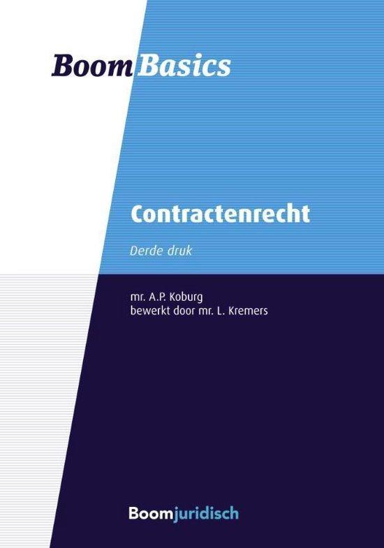 Boom Basics - Boom Basics Contractenrecht - A.P. Koburg |