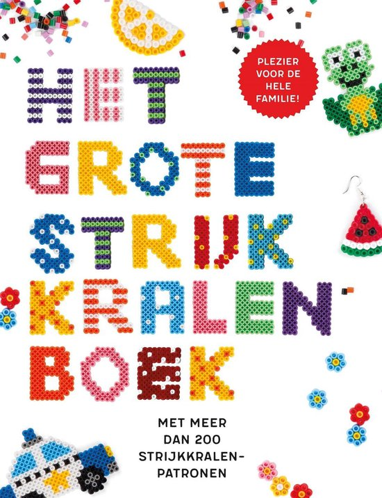 Het grote strijkkralenboek - Maria Gossé  