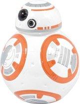 Wit/oranje Star Wars spaarpot BB-8 robot/droid 12 cm
