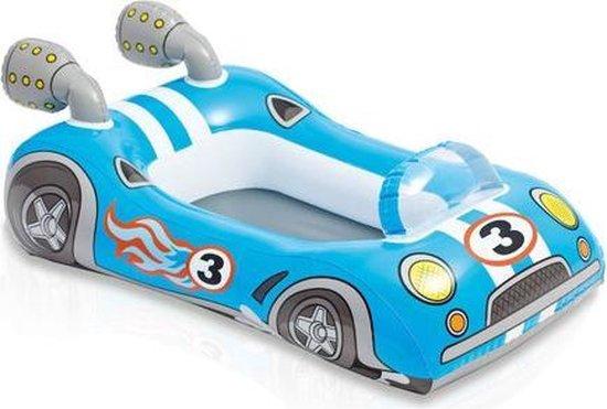 Opblaasbaar bootje auto Intex