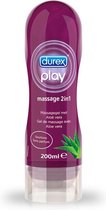 Durex Play Massage Olie - Aloë Vera - 200 ML