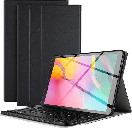 Samsung Galaxy Tab A 8.0 2019 Toetsenbord Hoes Keyboard Cover Zwart