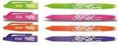 Frixion BL-FR7 rollerball assorti NEW – 4 stuks (l.groen, roze, oranje en violet)