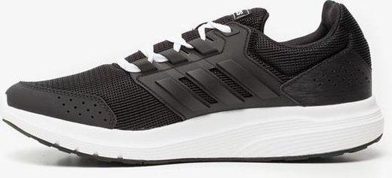 bol.com | Adidas Galaxy 4 heren sportschoenen - Zwart - Maat 48