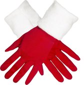 Boland Handschoenen Kerst Dames Rood One Size
