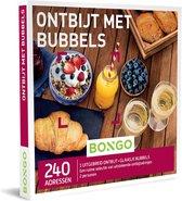 Bongo  Bon België - Ontbijt met Bubbels Cadeaubon - Cadeaukaart : 240 adressen voor een heerlijk ontbijt