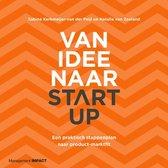 Boek cover Van idee naar start-up van Sabine Kerkmeijer-Van der Peijl (Paperback)