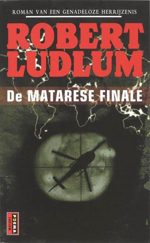Cover van het boek 'De Matarese finale' van Robert Ludlum