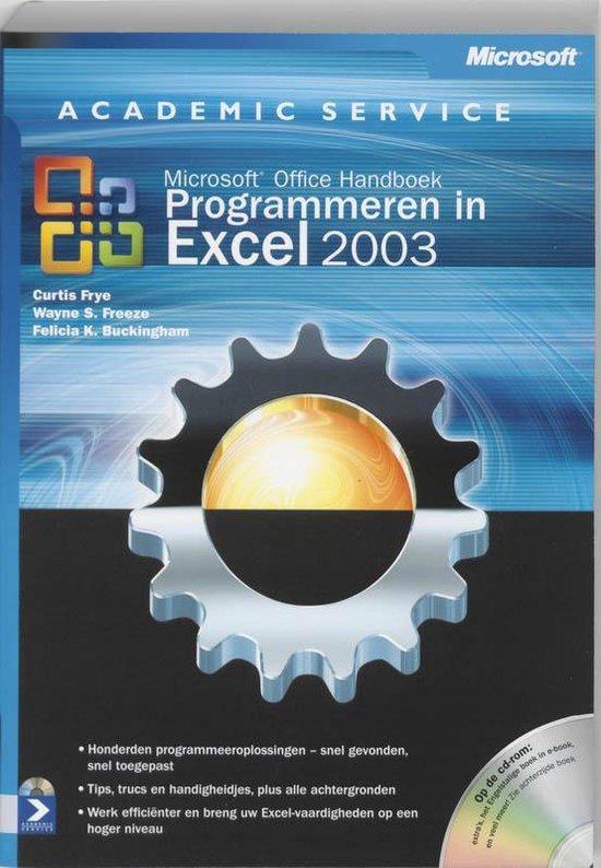 Programmeren in Excel 2003 - C. Frye |