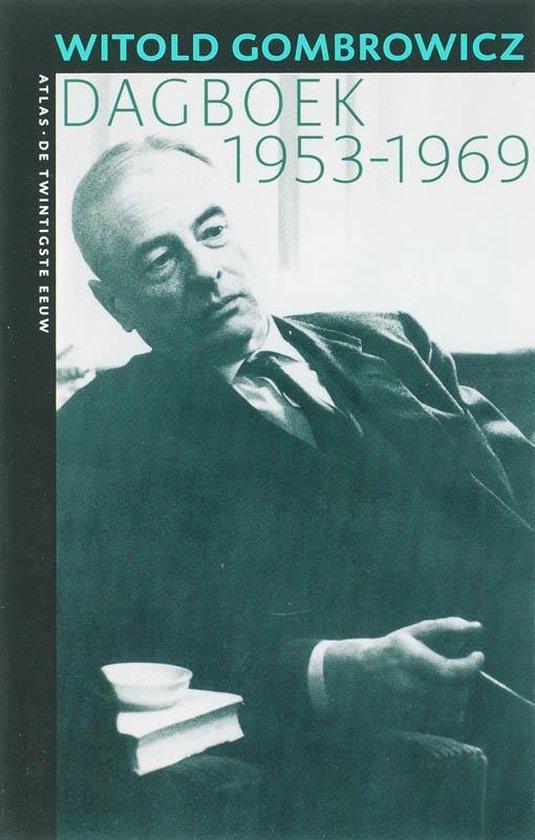 Boek cover Dagboek 1953-1969 van Witold Gombrowicz (Paperback)