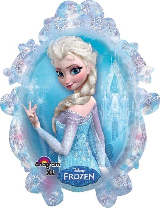 Folieballon - Frozen - Anna & Elsa - 63x78cm - Zonder vulling