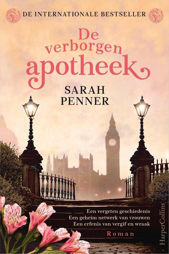 Boek cover De verborgen apotheek van Sarah Penner (Onbekend)
