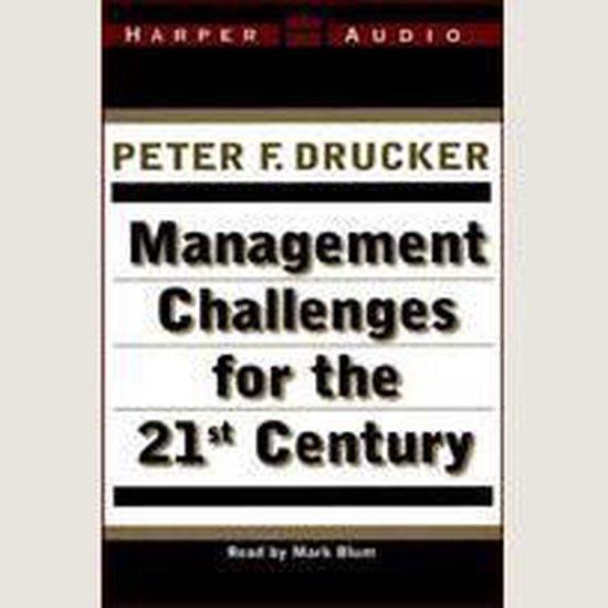 Boek cover Management Challenges for the 21St Century van Peter F. Drucker (Onbekend)