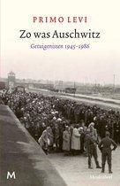 Boek cover Zo was Auschwitz van Primo Levi