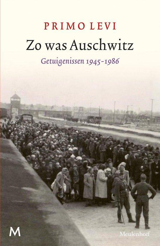 Boek cover Zo was Auschwitz van Primo Levi (Onbekend)