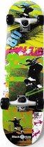 Black8Hole Skateboard--CONVERTJongens en meisjesKinderen - zwart/blauw/rood