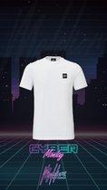 Malelions T-shirt Patch - White