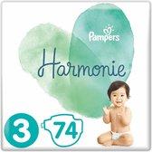 Pampers Harmonie Luiers Maat 3 - 74 Luiers