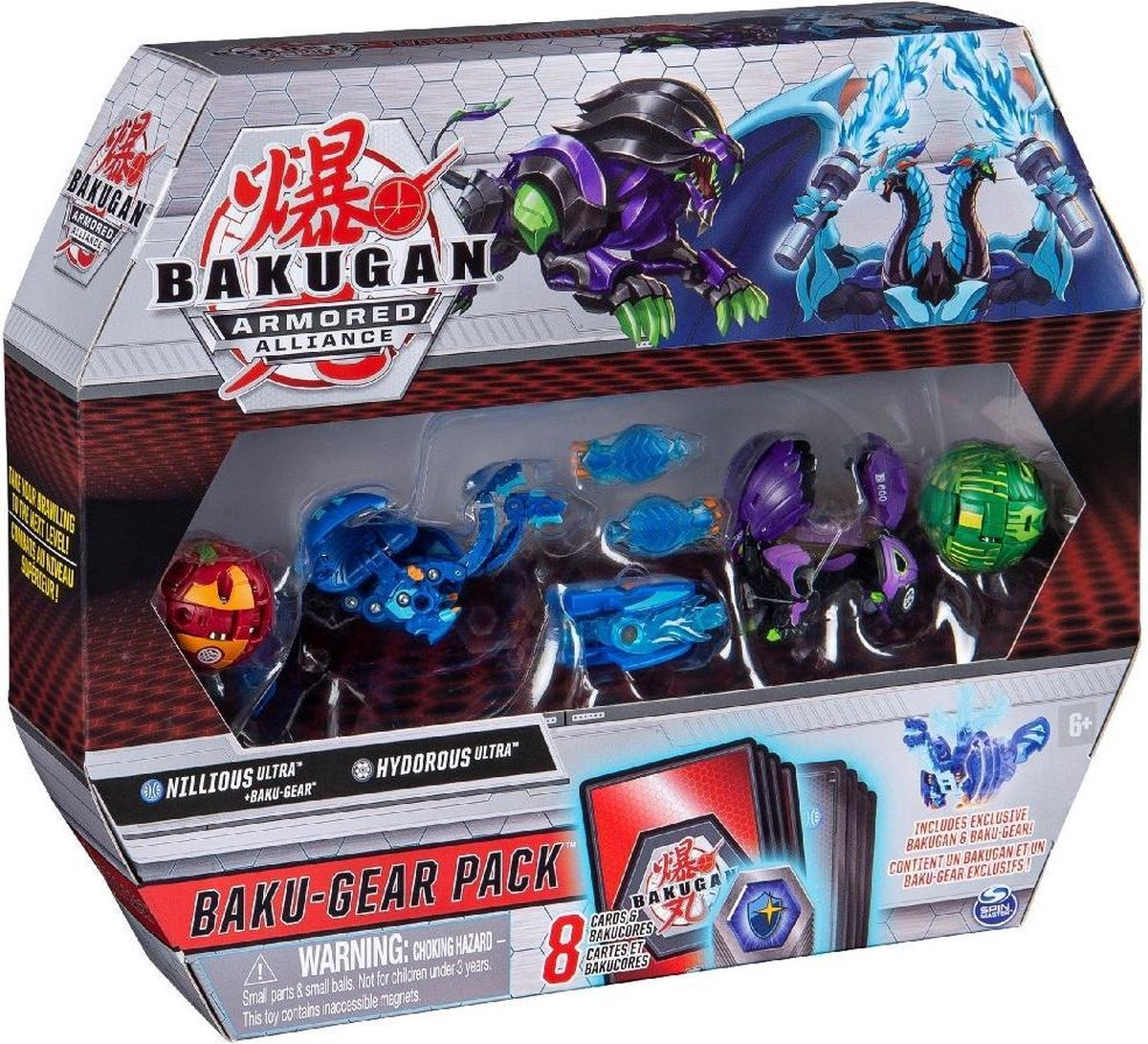 Bakugan Boosterset Baku Gear Pack Junior 17-delig