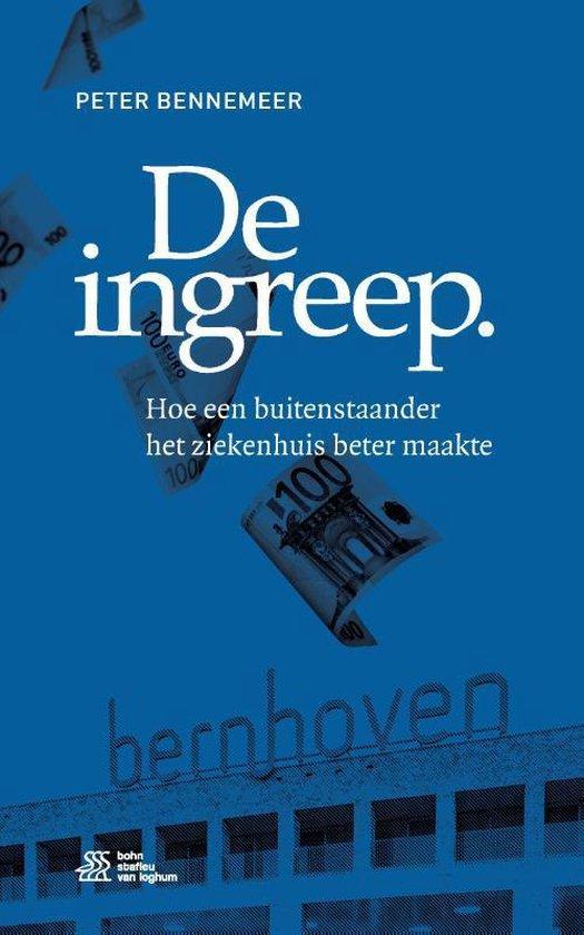 Boek cover de Ingreep van Peter Bennemeer
