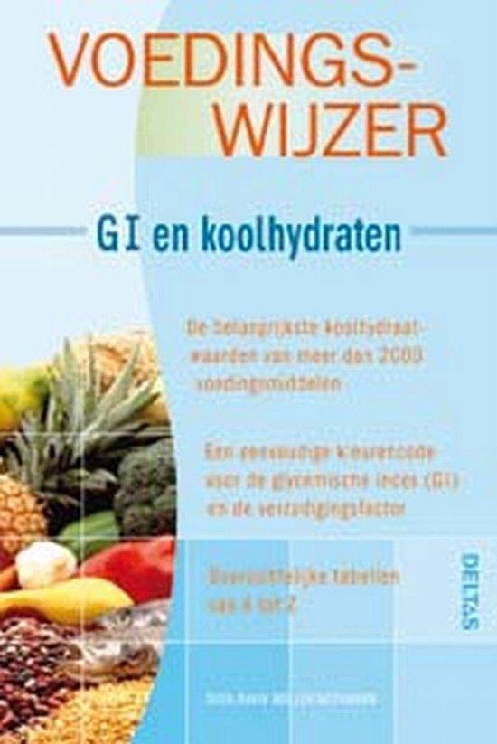 Cover van het boek 'Voedingswijzer - GI en koolhydraten'