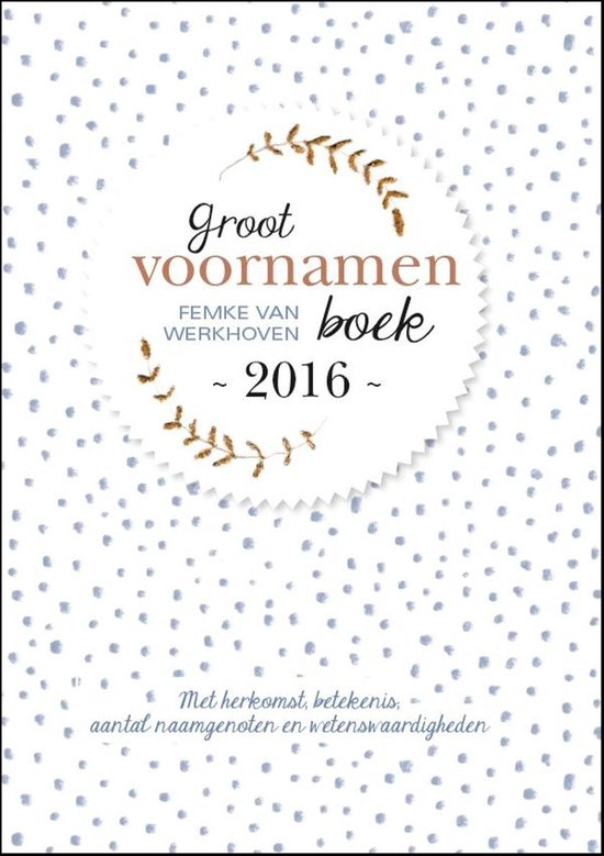 Groot voornamenboek 2016 - Femke van Werkhoven pdf epub